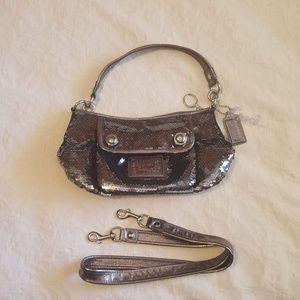 Coach Sequin Convertible Bag
